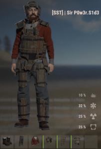 Деревянный сет в Rust
