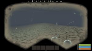 Видимость под водой с маской в Rust