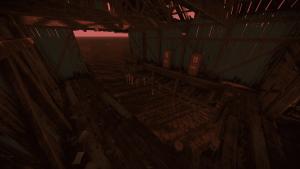 Место появления лодок в рыбацкой деревне в Rust