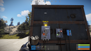 Подача энергии на разветвитель в Rust