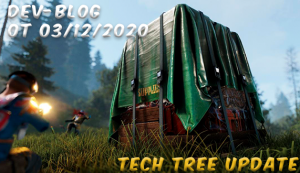 Dev-blog - Tech tree update