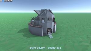 Дом Fortress4 в Rust