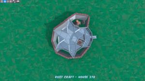 2 этаж дома Fortress в Rust