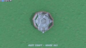 2 этаж дома Fortress4 в Rust