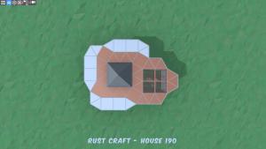 3 этаж дома Furn4 в Rust