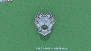 3 этаж дома Shopper в Rust