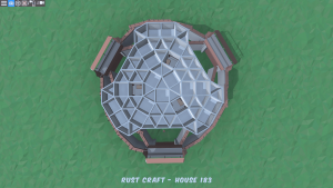 4 этаж дома Fortress2 в Rust