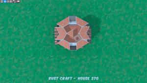 6 этаж дома Fortress3 в Rust