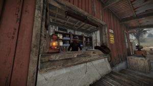Продавец на ранчо в Rust
