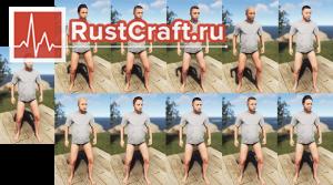Белокожие женские персонажи в Rust