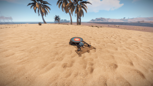 Поваленная мишень в Rust