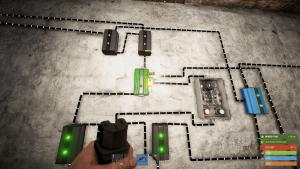 Подача энергии на разъём Reset ячейки памяти в Rust