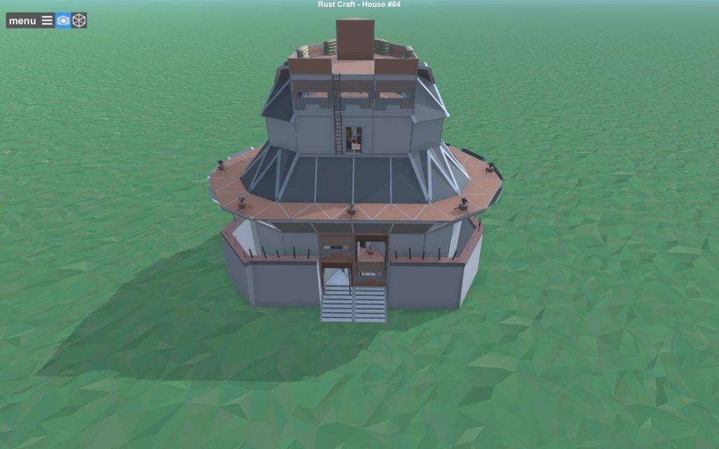 Фундамент дома Rust