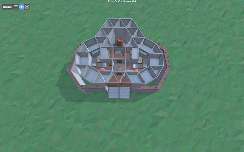 Первый этаж дома Rust