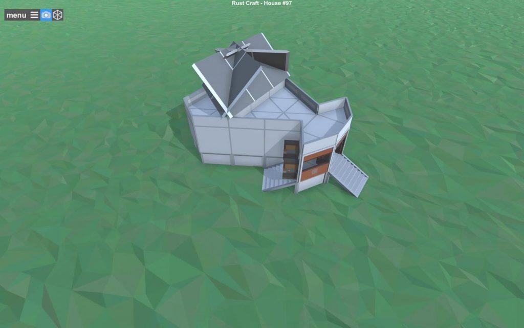 Основная схема дома - общий вид