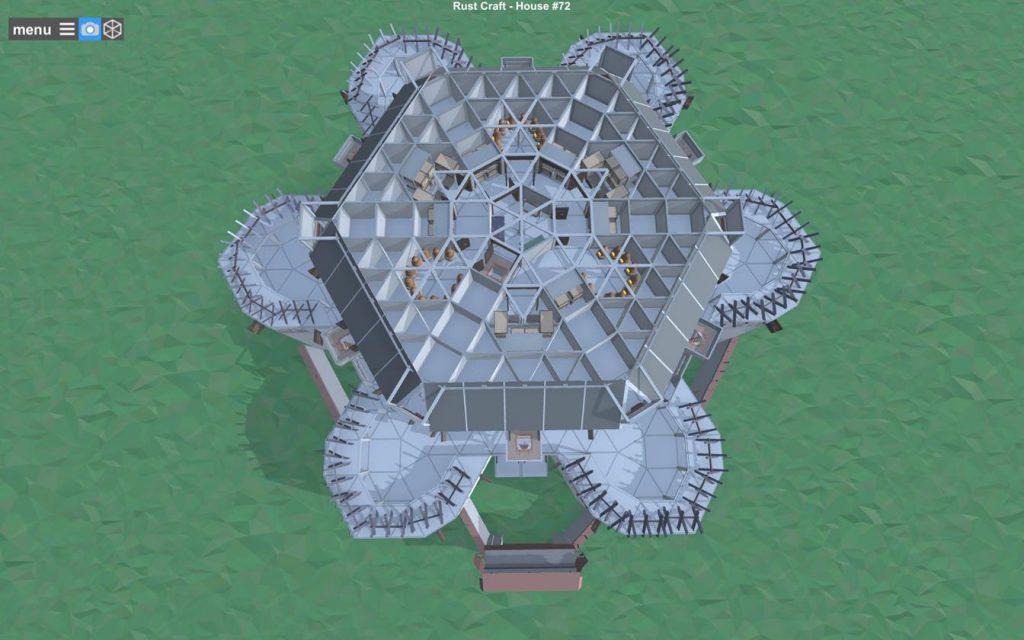Седьмой этаж постройки Rust