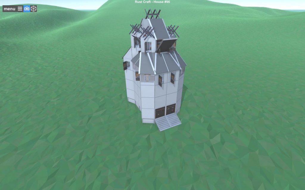 Общая схема постройки Rust - общий вид