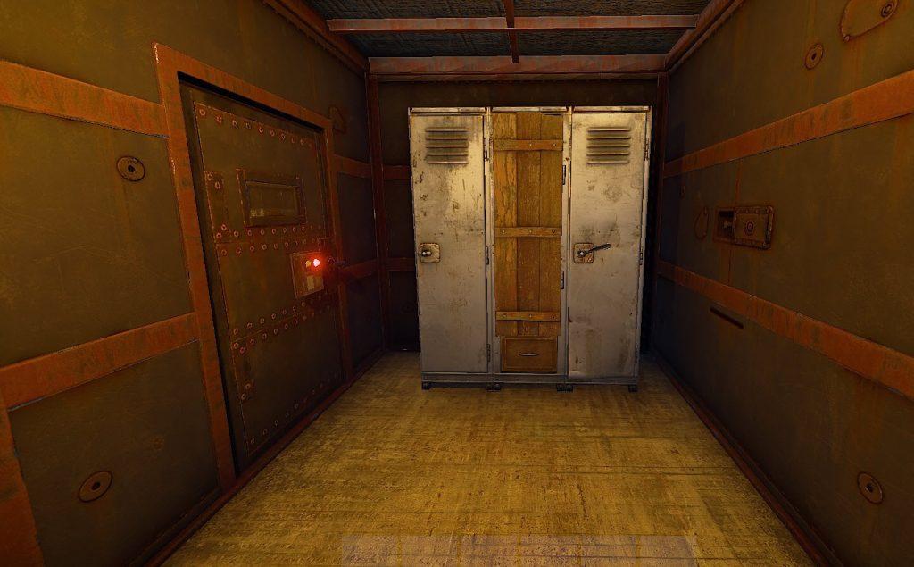 Оружейный шкаф в игре Rust