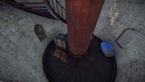 Ящик внутри маяка