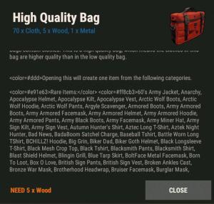 Сумка высокого качества Rust