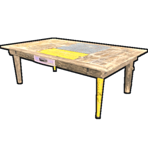 Стол в Rust