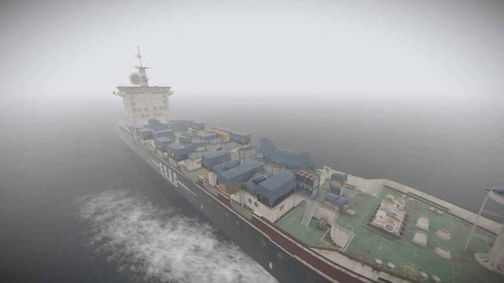 Грузовой корабль Rust