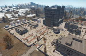 Recycler Launch Site Rust