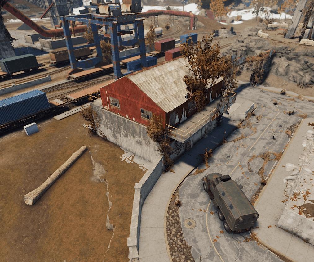 Recycler Train Yard Rust