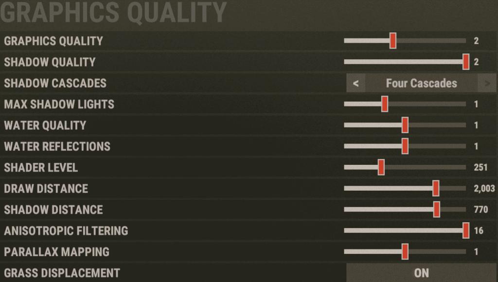 Graphics Quality средние пк