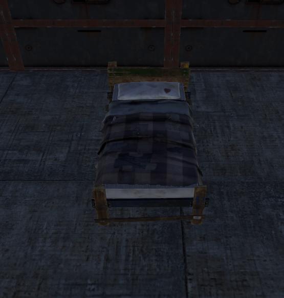 Кровать в Rust
