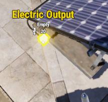 Вывод энергии из солнечной панели