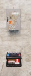 Разветвитель над маленьким аккумулятором