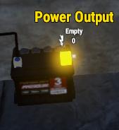 Вывод энергии из аккумулятора