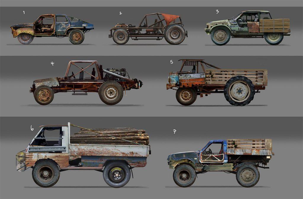 Концепты грузовых машин