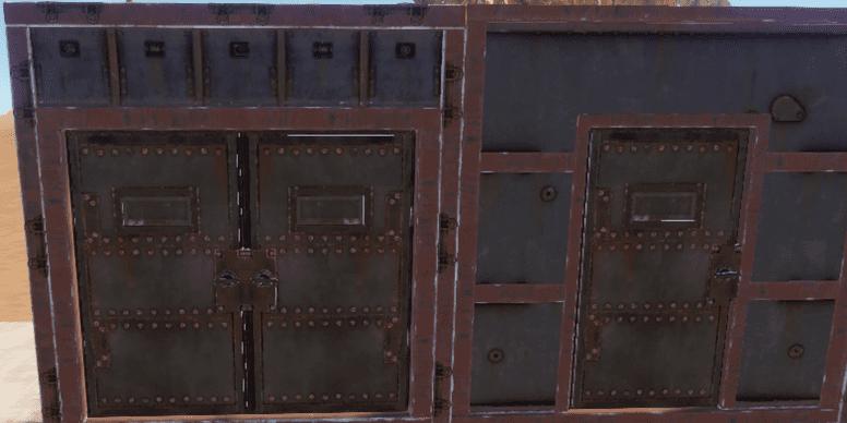 Бронированные двери в Rust