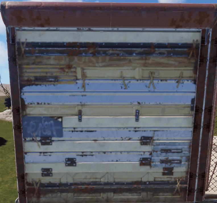 Гаражная дверь в Rust