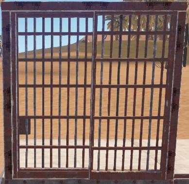 Тюремные ворота в Rust