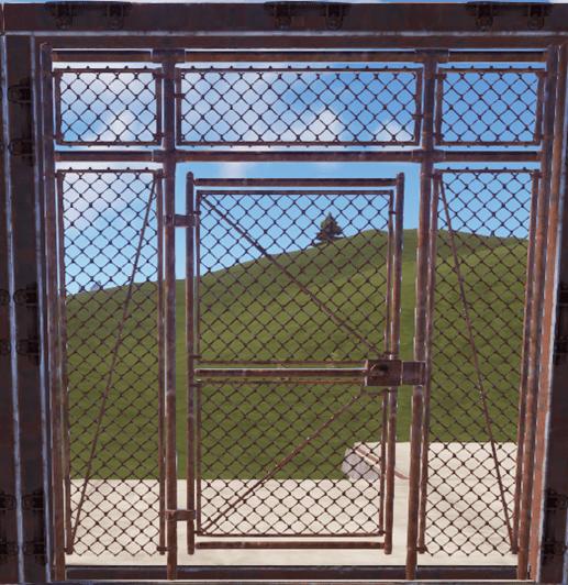 Сетчатая дверь в Rust
