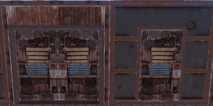 Двери из листового металла в Rust