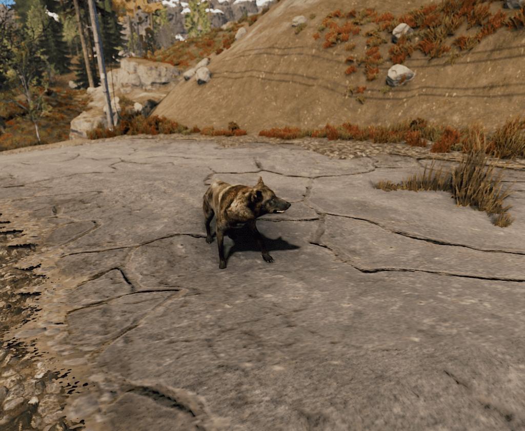 Волк в Rust