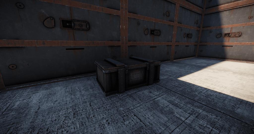 Военный ящик в игре Rust