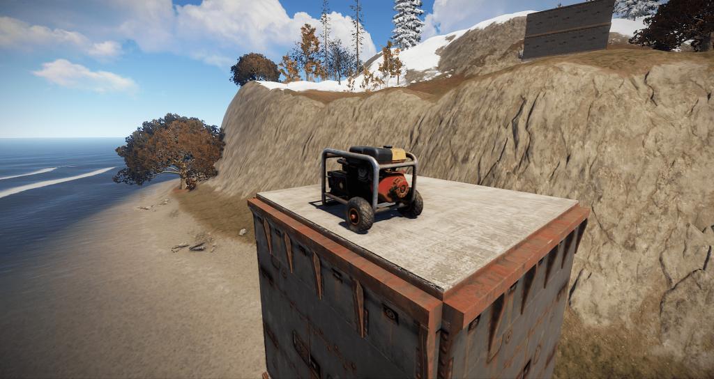 Маленький генератор в игре Rust