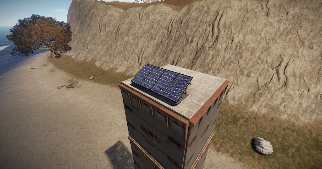 Солнечная панель в игре Rust
