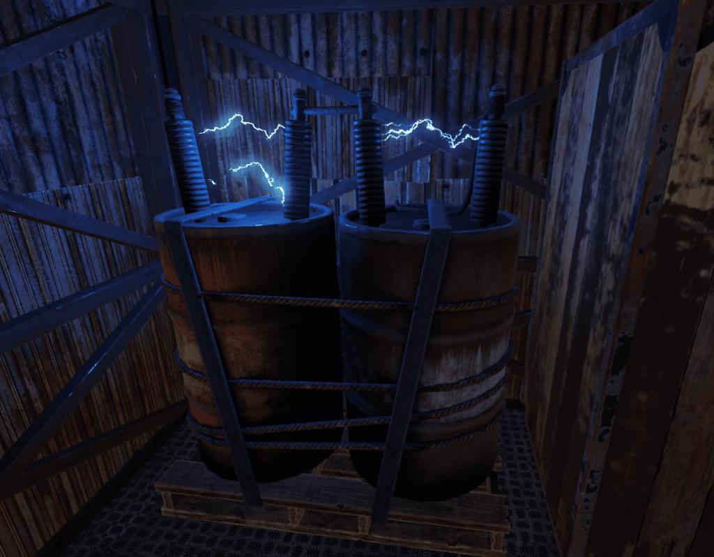 Средний аккумулятор в игре Rust