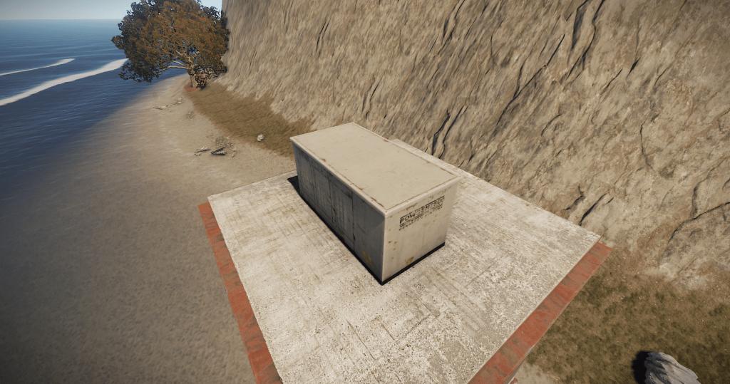 Тестовый генератор в игре Rust