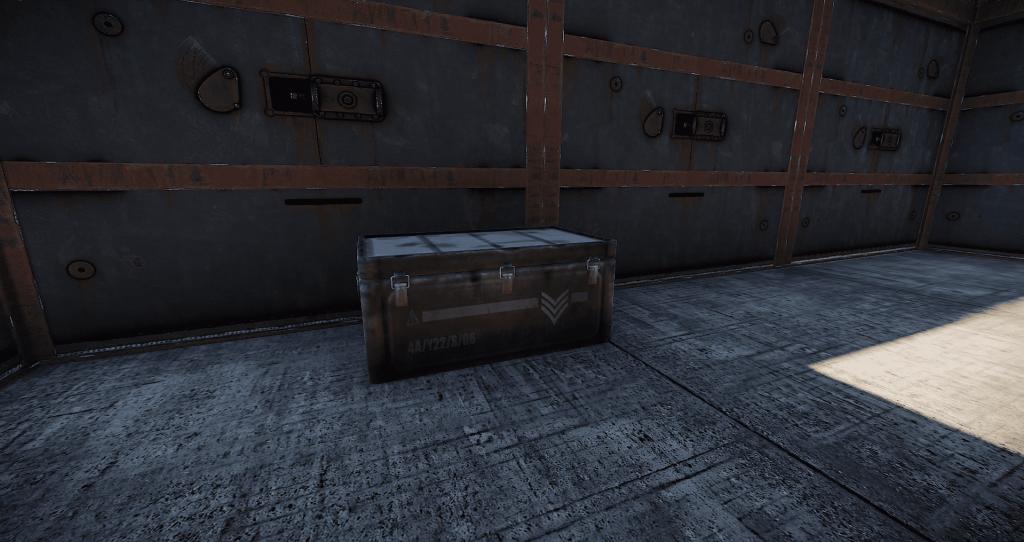 Элитный ящик в игре Rust