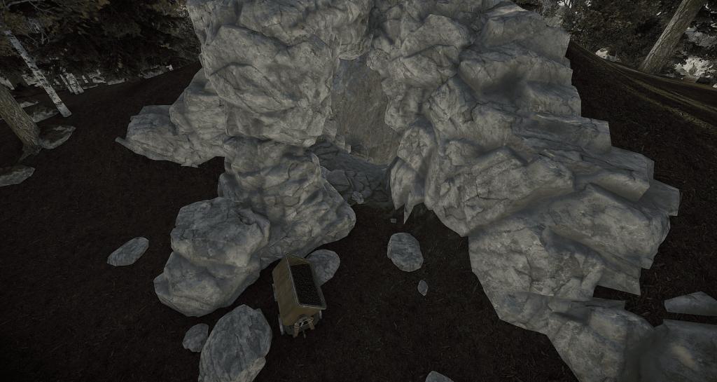 Вход во второй тип пещер