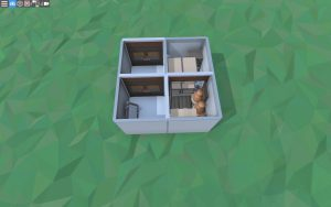 Первый этаж дешёвого стартового дома в Rust