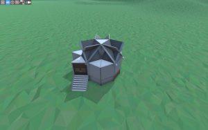 Внешний вид простого дома для соло игрока в Rust
