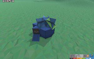 Стабильность простого дома для соло игрока в Rust